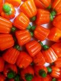 Süßigkeits-Kürbise für Halloween-Hintergrund oder Grafikressource Stockfoto