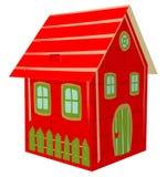 Süßigkeits-Kasten, Kasten-Haus, Geschenkbox, Präsentkarton, Weihnachtsgeschenk lizenzfreie stockfotos