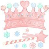 Süßigkeits-Krone Stockfoto