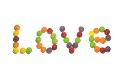 Süßigkeits-Liebe Lizenzfreies Stockfoto