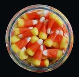 Süßigkeits-Mais-Glas Lizenzfreie Stockbilder