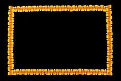 Süßigkeits-Mais-Grenzhintergrund Lizenzfreies Stockfoto