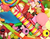 Süßigkeits-Mischung Stockbild