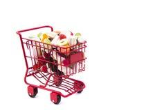 Süßigkeits-Warenkorb Stockbild