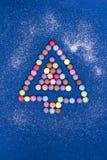 Süßigkeits-Weihnachtsbaum Lizenzfreie Stockfotografie