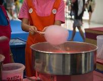 Süßigkeitsglasschlackenmaschine Stockbilder