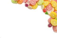 Süßigkeitshintergrund. stockbilder