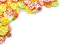 Süßigkeitshintergrund. stockbild
