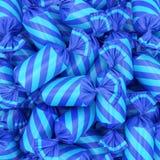 Süßigkeitshintergrund, Wiedergabe 3D Stockbild