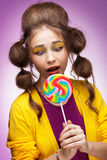 Süßigkeitsliebhaber lizenzfreies stockbild