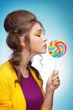 Süßigkeitsliebhaber stockfotos