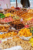 Süßigkeitsmarkt Stockbild