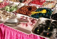 Süßigkeitsmarkt lizenzfreie stockbilder