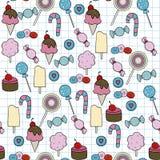 Süßigkeitsmuster Lizenzfreies Stockbild