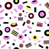 Süßigkeitsmuster Stockfotografie
