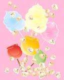 Süßigkeitssnäcke Lizenzfreies Stockbild