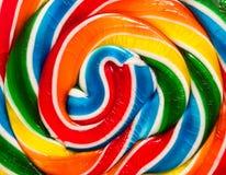 Süßigkeitsstrudelhintergrund Stockbild