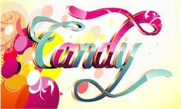 Süßigkeitvektorabbildung Lizenzfreies Stockfoto