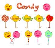 Süßigkeitzeichen Lizenzfreie Stockfotografie