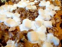 Süßkartoffel-Kasserollen-Eibische Lizenzfreies Stockfoto