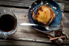 Süßkartoffel-Pfannkuchen Lizenzfreies Stockbild