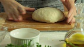 Süßkartoffel Quesadilla-Rezeptsatz stock footage