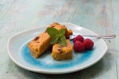 Süßkartoffelpudding Stockbilder