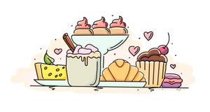 Süßwarengeschäft Lizenzfreie Stockfotografie