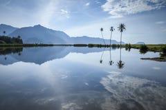Süßwasseroase in Aceh, Indonesien Stockfotos