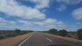 Süd-australi heraus unterstützen Landstraße Stockfotografie