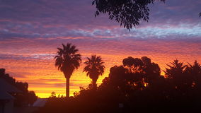 Süd-Australien-magill Sonnensatz Lizenzfreie Stockbilder