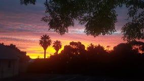 Süd-Australien-magill Sonnensatz Lizenzfreies Stockbild