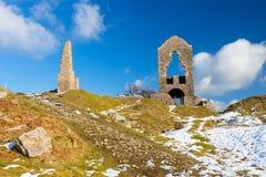 Süd-Caradon-Bergwerk Cornwall Stockbilder