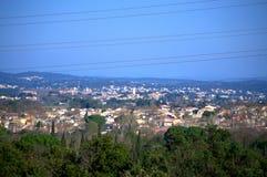 Süd-Frankreich-Ansicht Lizenzfreies Stockfoto
