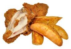 Süd-Fried Chicken Wings Stockbilder