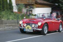 Süd-klassisches cars_ AUSTIN HEALEY 100 Tirols Stockbild