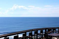 Süd-Kuta-Strandansicht stockfotos