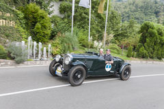 Süd-Liter Tirols Rallye 2016_Bentley 4-5 Stockbilder
