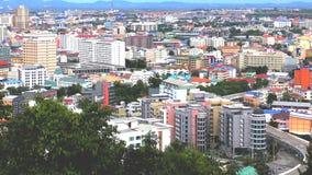 Süd-Pattaya Hotels und Eigentumswohnungen Pattaya Thailand stockfotografie