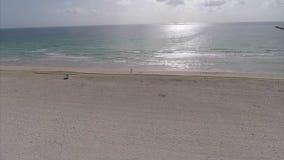 Süd-Pointe-Parkfischen Pier und Miami Beach stock video footage