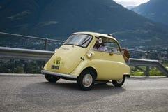 Süd-Tirol klassisches cars_2014_BMW Isetta stockfotos