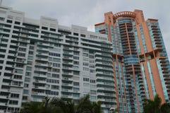 Süd-Turm Pointe und Portofino, Südstrand, Miami, Florida Stockfotos
