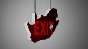 Südafrika-Auswanderung Lizenzfreie Stockbilder