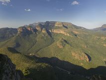 Südafrika, Gebirgszug Lizenzfreie Stockfotos