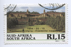Südafrika-Stempel Lizenzfreies Stockbild