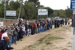 Südafrika-Wahlen 2009 stockfotografie