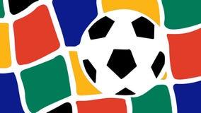 Südafrika-Weltcup 2010 Stockbild