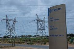 Südafrikanische Energie für den praktischen Gebrauch vor Einsturz lizenzfreie stockbilder