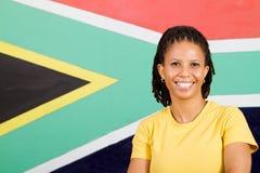 Südafrikanische Frau Lizenzfreie Stockbilder