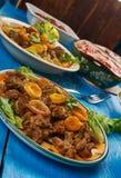 Südafrikanische Küche Stockfotos